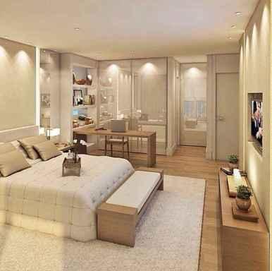 120 Awesome Farmhouse Master Bedroom Decor Ideas (99)