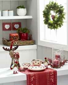 20 Elegant Christmas Kitchen Decor Ideas And Makeover (18)