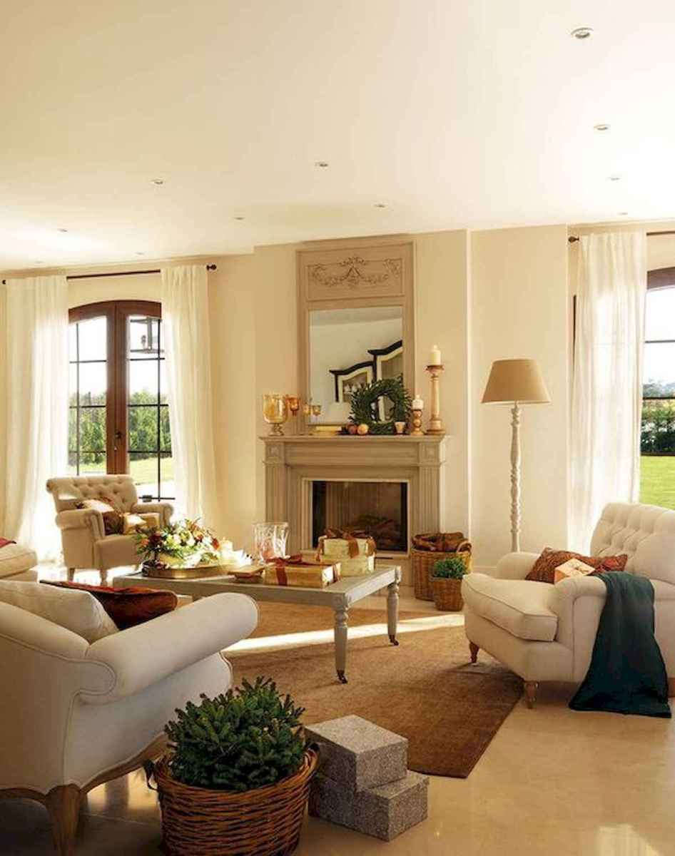 30 Stunning Farmhouse Living Room Decor Ideas (17)