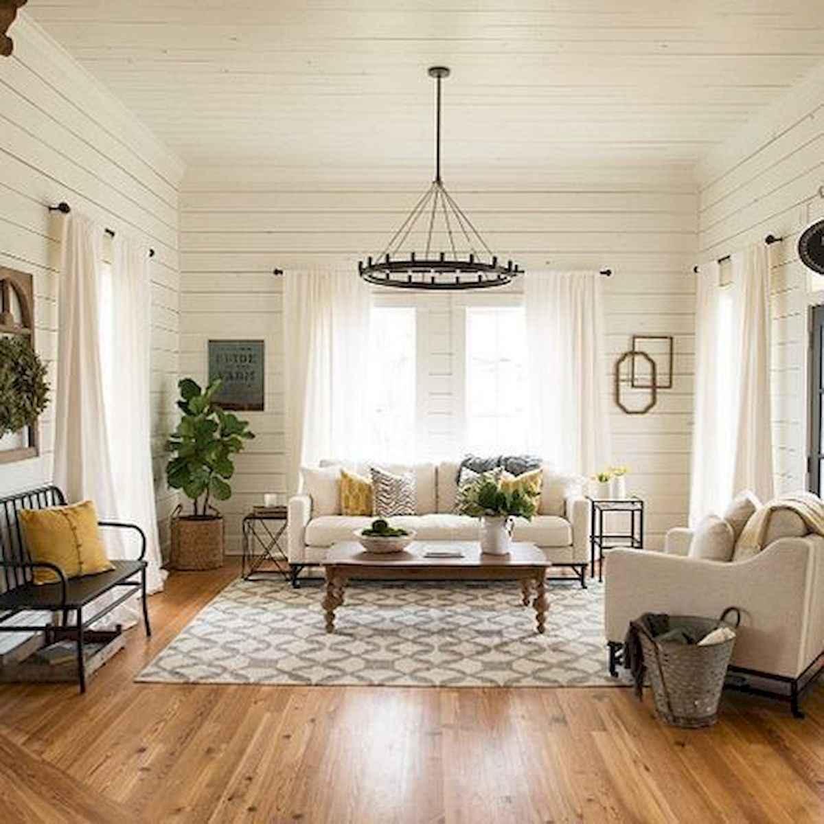 30 Stunning Farmhouse Living Room Decor Ideas (8)