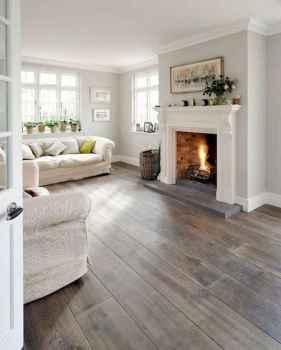 40 Awesome Fireplace Makeover For Farmhouse Home Decor (28)