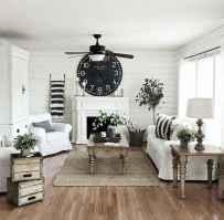 40 Awesome Fireplace Makeover For Farmhouse Home Decor (34)
