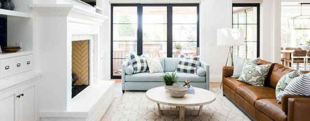 40 Best Modern Farmhouse Sofa Family Rooms Decor Ideas And Design (35)