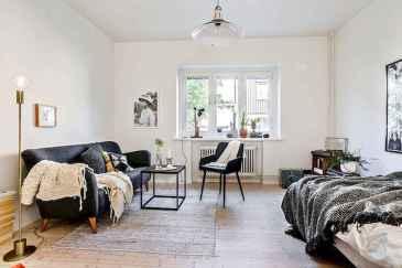 40 Rustic Studio Apartment Decor Ideas (33)