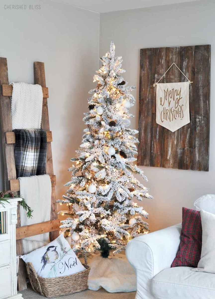60 Awesome Farmhouse Christmas Decorating Ideas And Makeover (7)