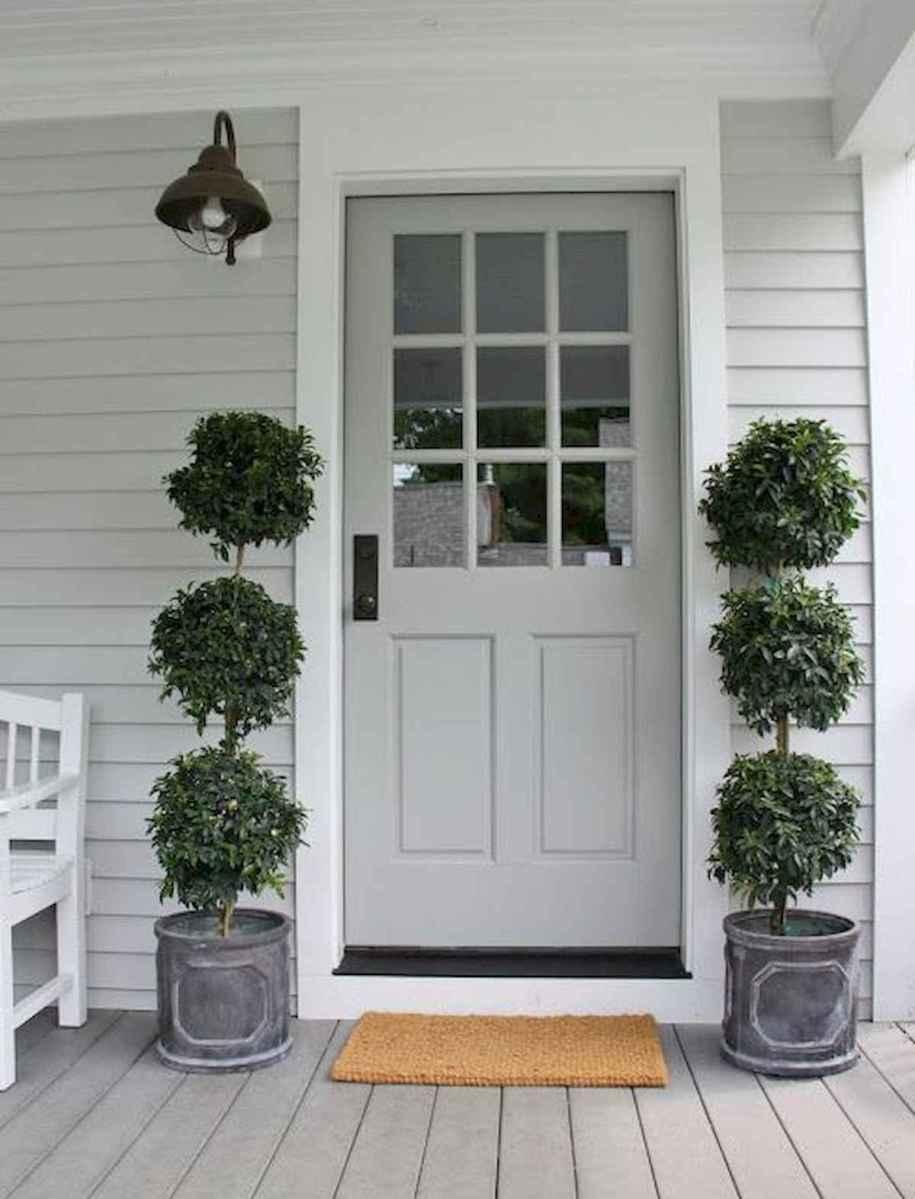70 Best Modern Farmhouse Front Door Entrance Design Ideas (15)