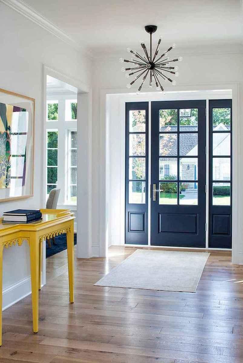 70 Best Modern Farmhouse Front Door Entrance Design Ideas (18)