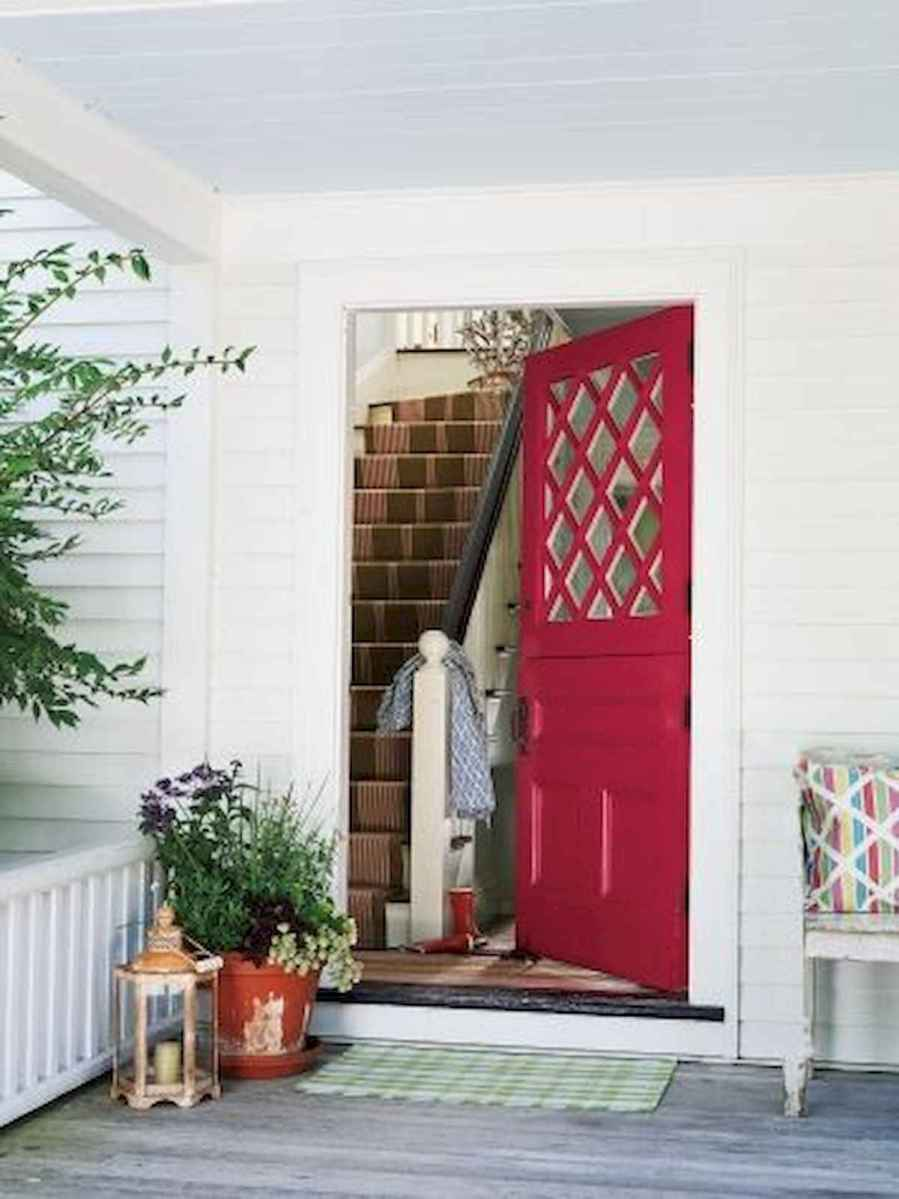 70 Best Modern Farmhouse Front Door Entrance Design Ideas (2)