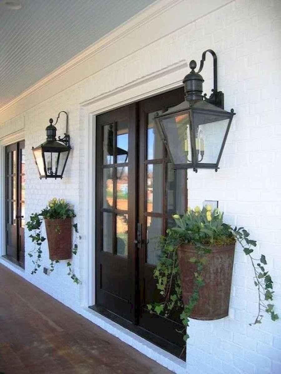 70 Best Modern Farmhouse Front Door Entrance Design Ideas (22)