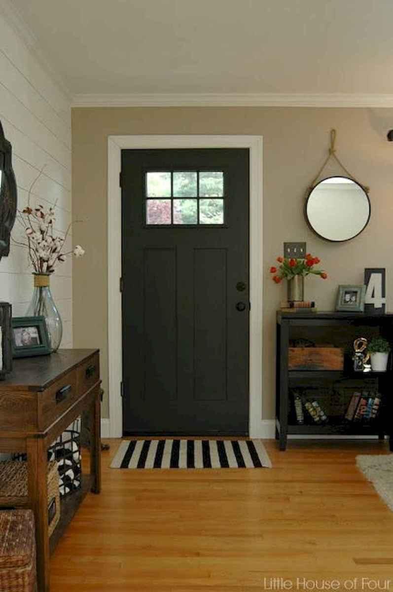 70 Best Modern Farmhouse Front Door Entrance Design Ideas (27)
