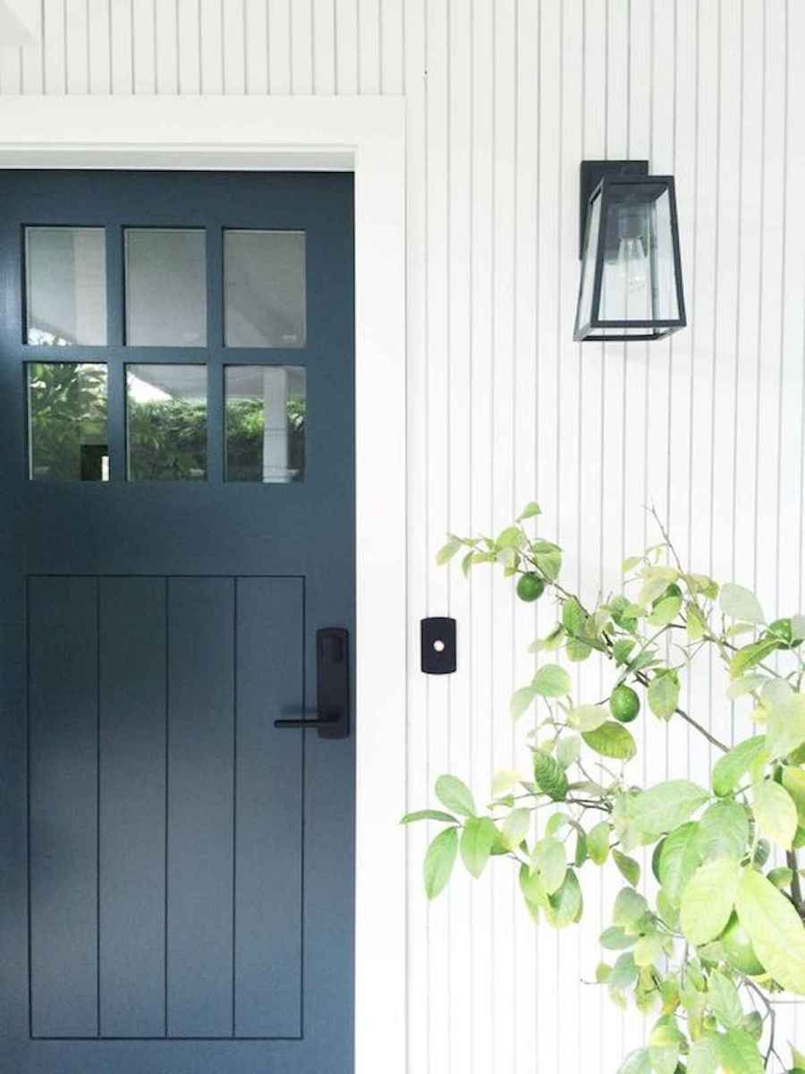 70 Best Modern Farmhouse Front Door Entrance Design Ideas (28)