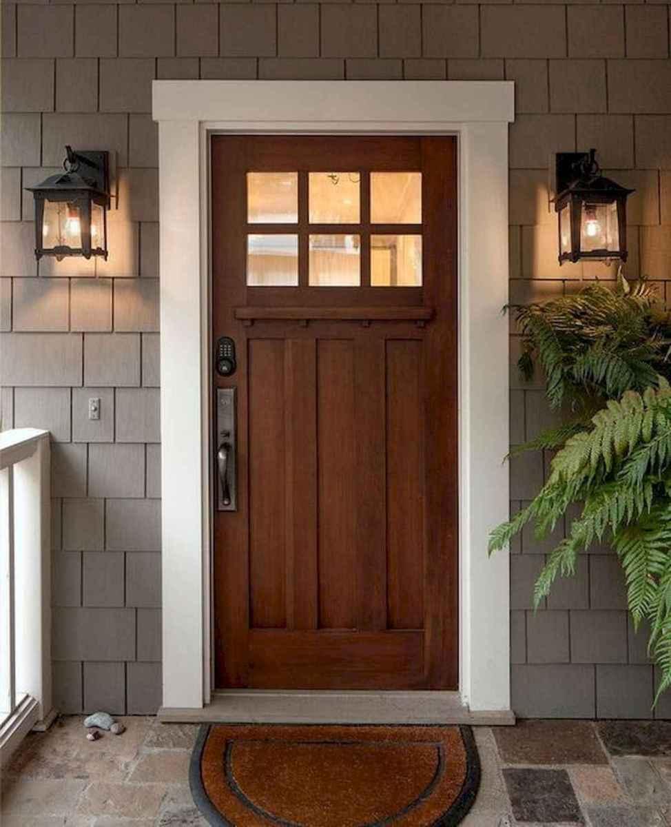 70 Best Modern Farmhouse Front Door Entrance Design Ideas (29)