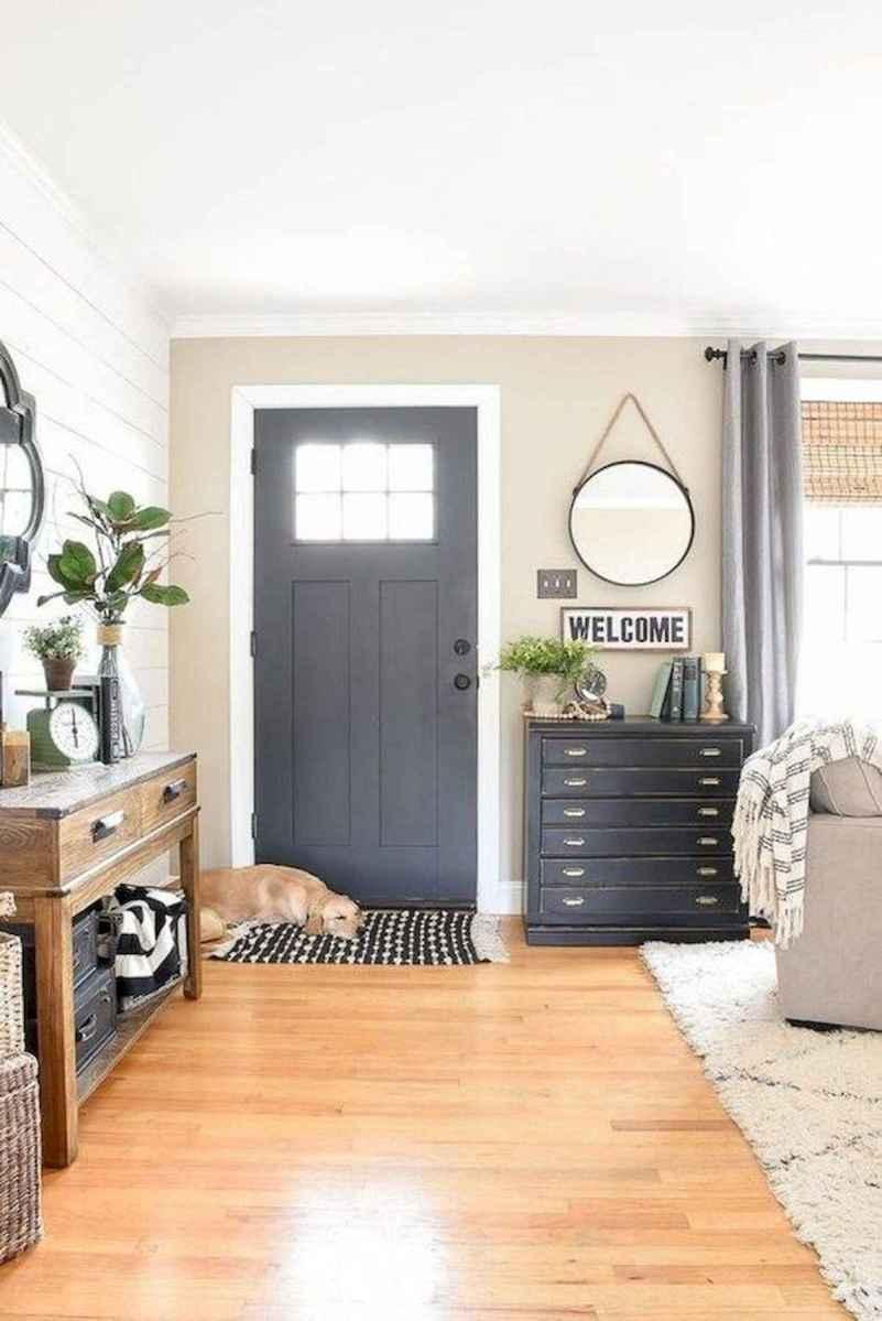 70 Best Modern Farmhouse Front Door Entrance Design Ideas (31)