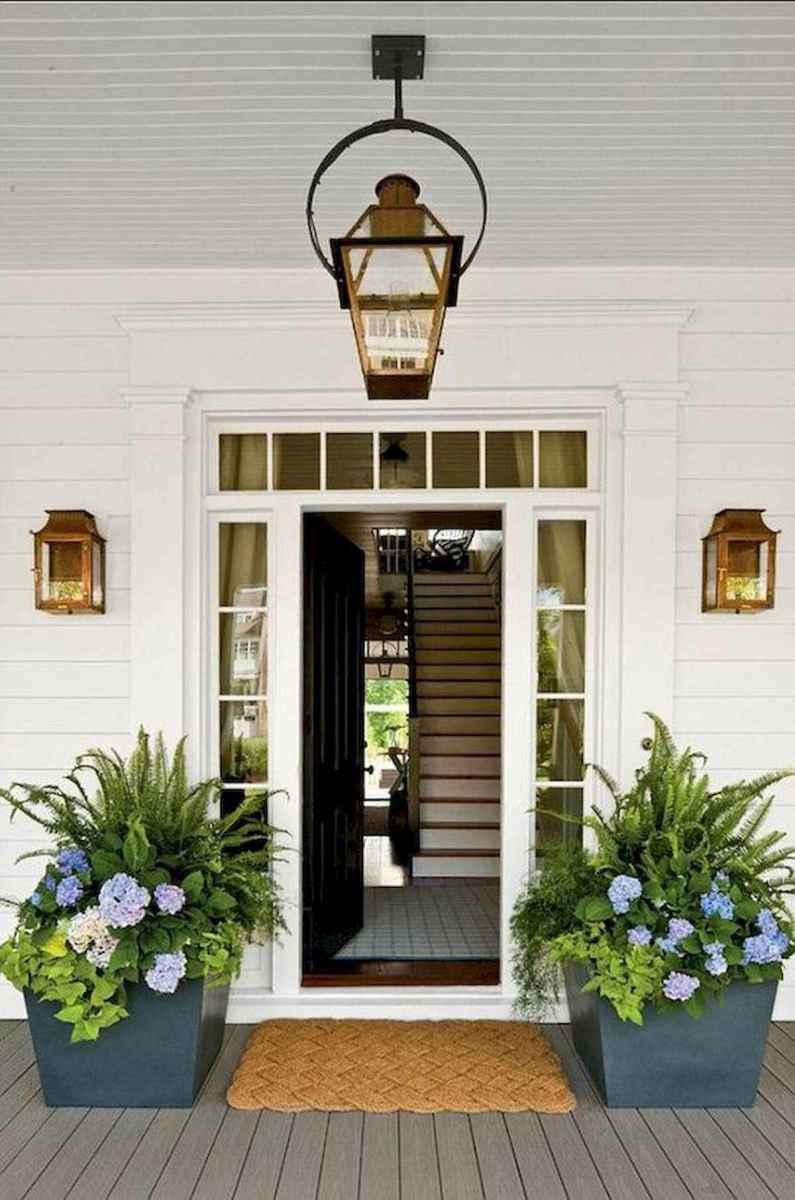 70 Best Modern Farmhouse Front Door Entrance Design Ideas (32)