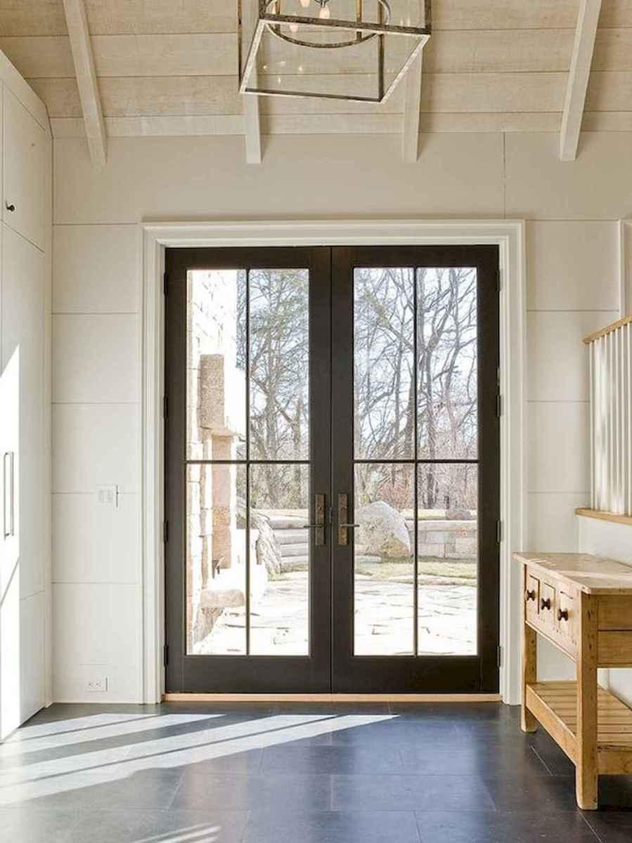 70 Best Modern Farmhouse Front Door Entrance Design Ideas (33)