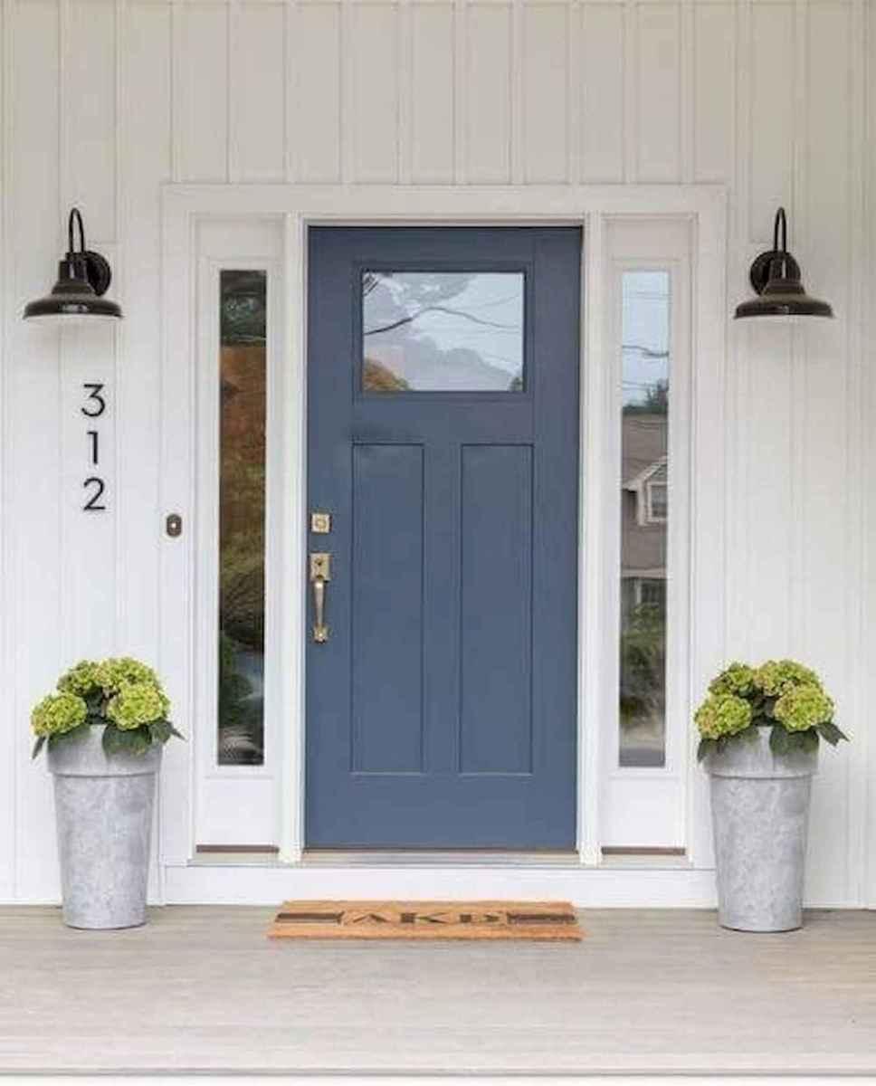 70 Best Modern Farmhouse Front Door Entrance Design Ideas (41)