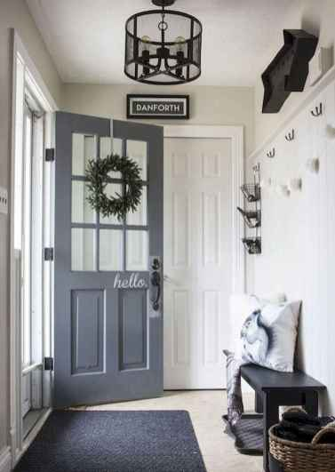 70 Best Modern Farmhouse Front Door Entrance Design Ideas (51)