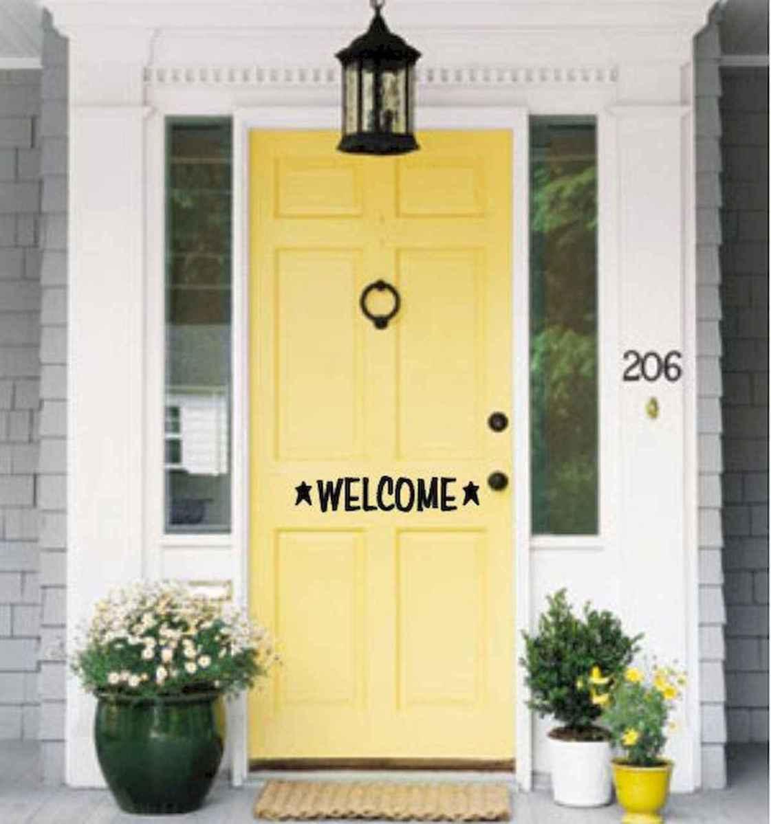 70 Best Modern Farmhouse Front Door Entrance Design Ideas (53)