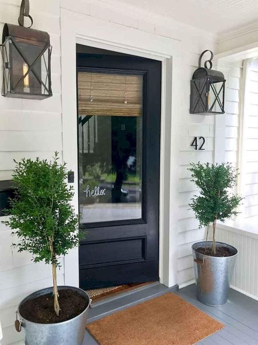 70 Best Modern Farmhouse Front Door Entrance Design Ideas (56)