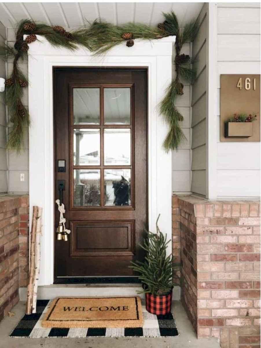 70 Best Modern Farmhouse Front Door Entrance Design Ideas (63)