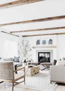 70 Elegant Modern Farmhouse Living Room Decor Ideas And Makeover (17)