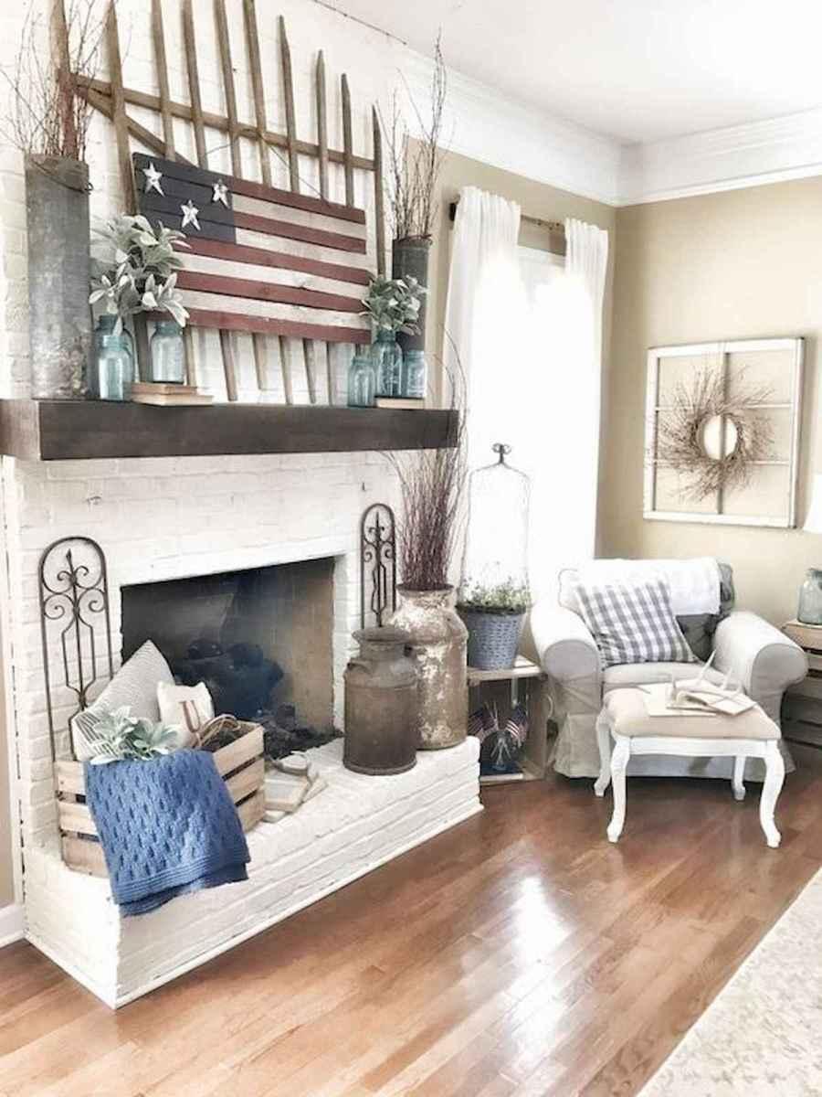 70 Elegant Modern Farmhouse Living Room Decor Ideas And Makeover (2)