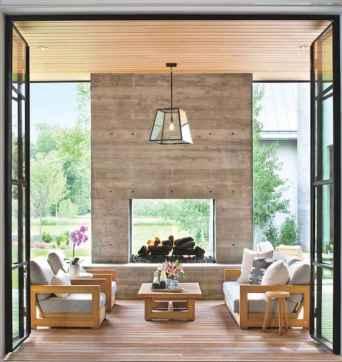 70 Elegant Modern Farmhouse Living Room Decor Ideas And Makeover (23)