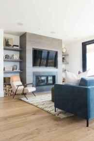 70 Elegant Modern Farmhouse Living Room Decor Ideas And Makeover (27)