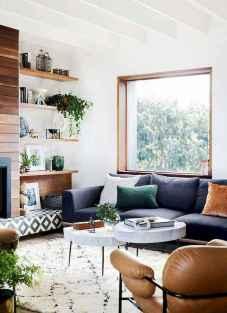 70 Elegant Modern Farmhouse Living Room Decor Ideas And Makeover (32)