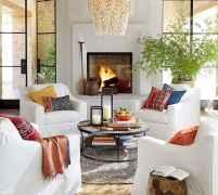 70 Elegant Modern Farmhouse Living Room Decor Ideas And Makeover (49)