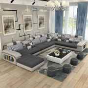 70 Elegant Modern Farmhouse Living Room Decor Ideas And Makeover (63)