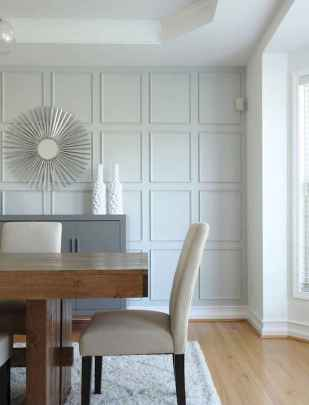 70 Farmhouse Wall Paneling Design Ideas For Living Room, Bathroom, Kitchen And Bedroom (25)