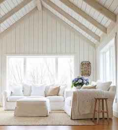 70 Farmhouse Wall Paneling Design Ideas For Living Room, Bathroom, Kitchen And Bedroom (33)