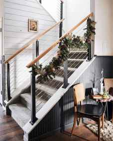 70 Farmhouse Wall Paneling Design Ideas For Living Room, Bathroom, Kitchen And Bedroom (57)