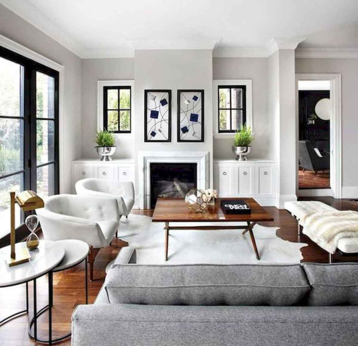 80 Elegant Furniture For Modern Farmhouse Living Room Decor Ideas (10)