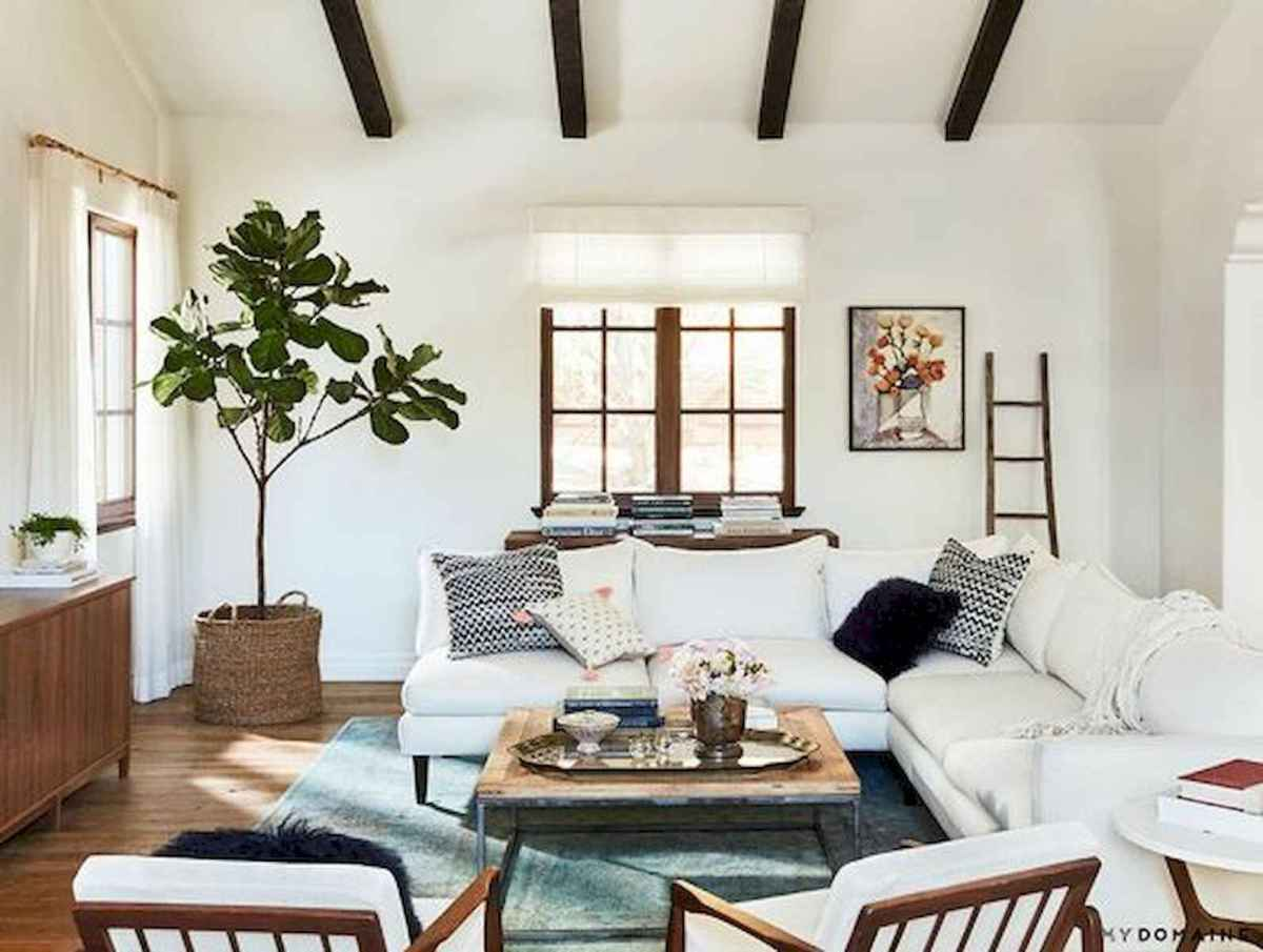 80 Elegant Furniture For Modern Farmhouse Living Room Decor Ideas (25)