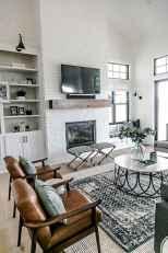 80 Elegant Furniture For Modern Farmhouse Living Room Decor Ideas (65)