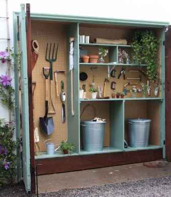 25 Awesome Unique Small Storage Shed Ideas for your Garden (1)