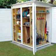 25 Awesome Unique Small Storage Shed Ideas for your Garden (17)