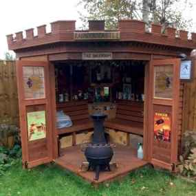 25 Awesome Unique Small Storage Shed Ideas for your Garden (3)