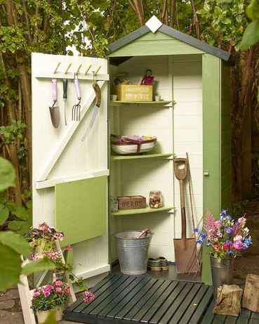 25 Awesome Unique Small Storage Shed Ideas for your Garden (9)
