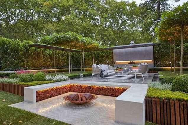 25 Creative Sunken Sitting Areas For a Mesmerizing Backyard Landscape (25)