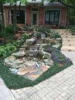 25 Stunning Backyard Ponds Ideas With Waterfalls (13)