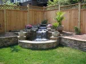 25 Stunning Backyard Ponds Ideas With Waterfalls (19)
