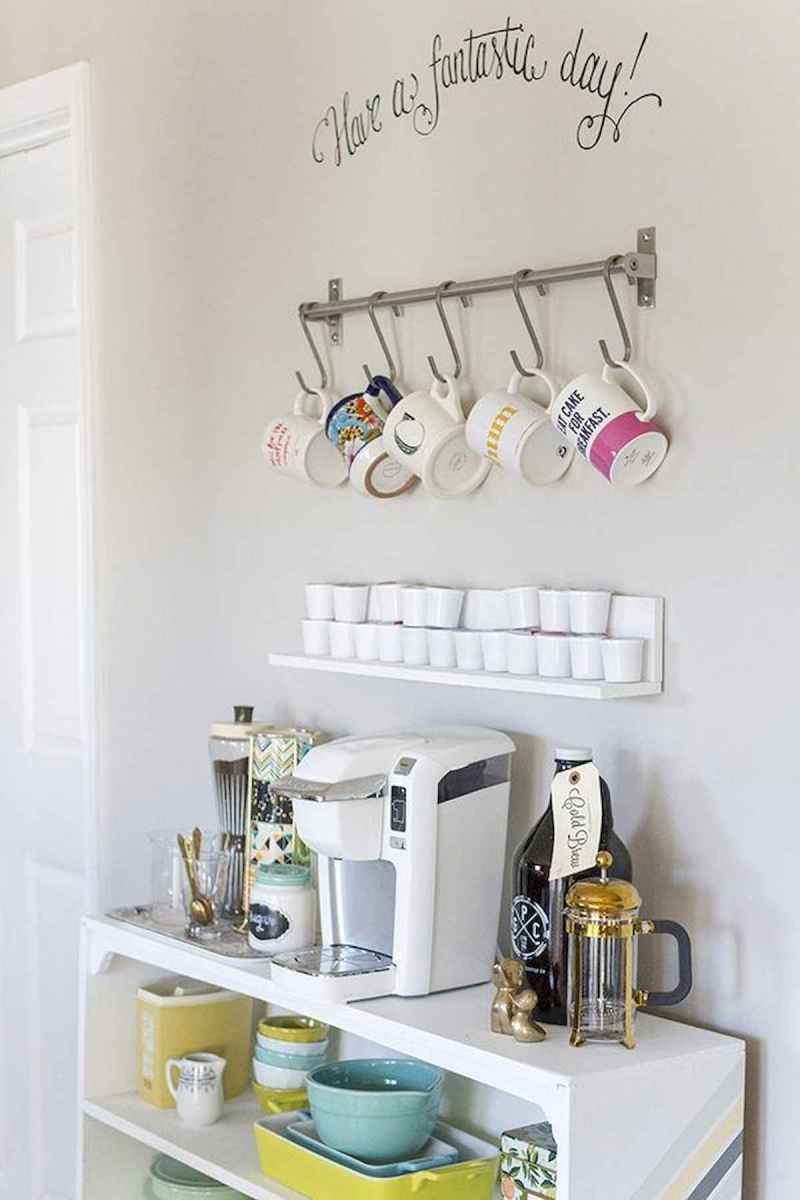 32 Awesome DIY Mini Coffee Bar Design Ideas For Your Home (10)
