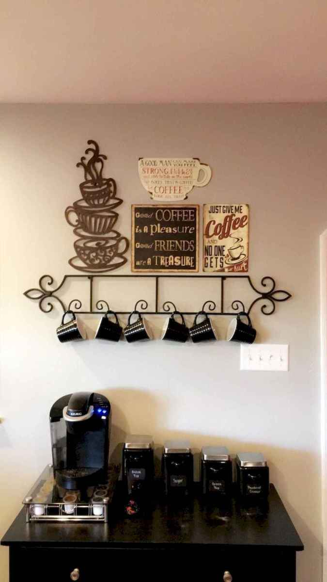 32 Awesome DIY Mini Coffee Bar Design Ideas For Your Home (11)