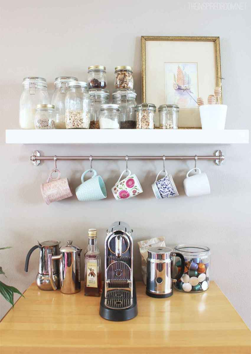 32 Awesome DIY Mini Coffee Bar Design Ideas For Your Home (13)