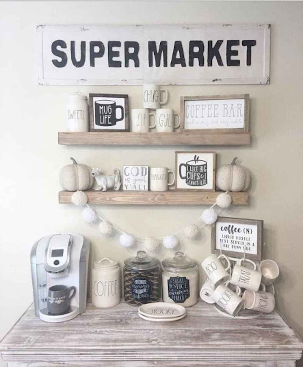 32 Awesome DIY Mini Coffee Bar Design Ideas For Your Home (14)