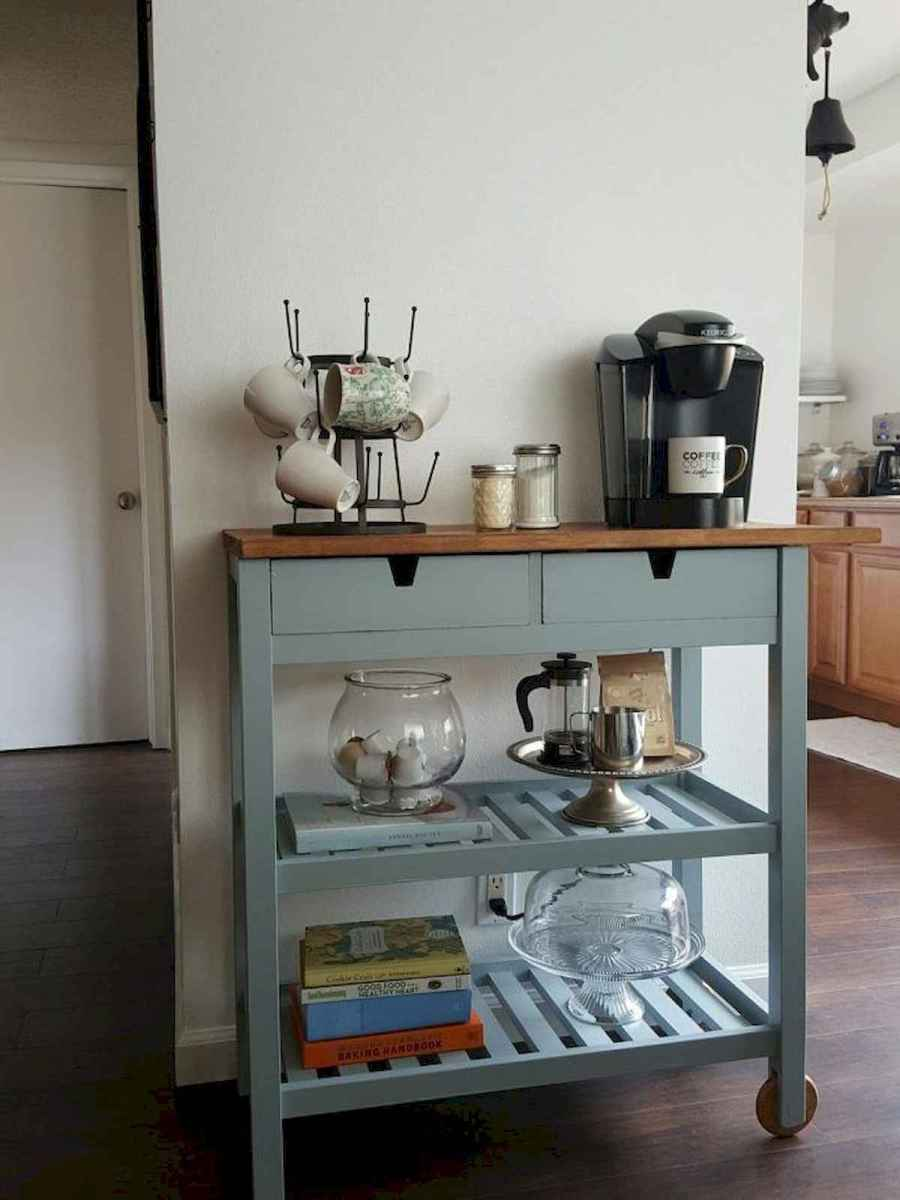 32 Awesome DIY Mini Coffee Bar Design Ideas For Your Home (15)