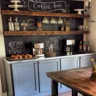 32 Awesome DIY Mini Coffee Bar Design Ideas For Your Home (16)
